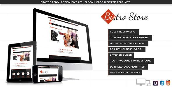 Bistro Store - Responsive eCommerce Template