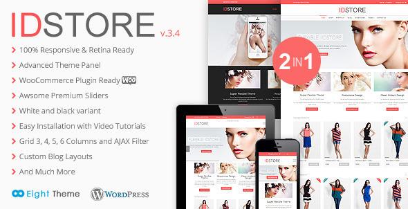 IDStore - Responsive Multi-Purpose Ecommerce Theme