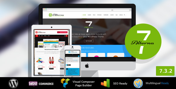 Alterna 7 - Ultra Multi-Purpose WordPress Theme