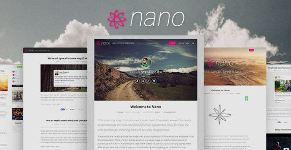 Nano | Minimalist & Highly Customizable WP Blog