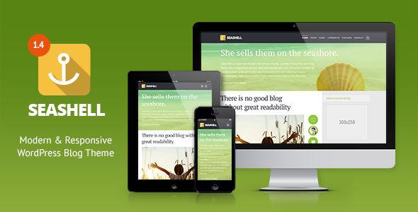 SeaShell - Modern Responsive WordPress Blog Theme