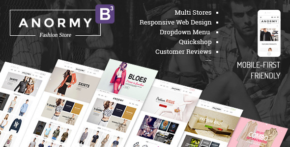 Anormy - Flexible Shopify Template