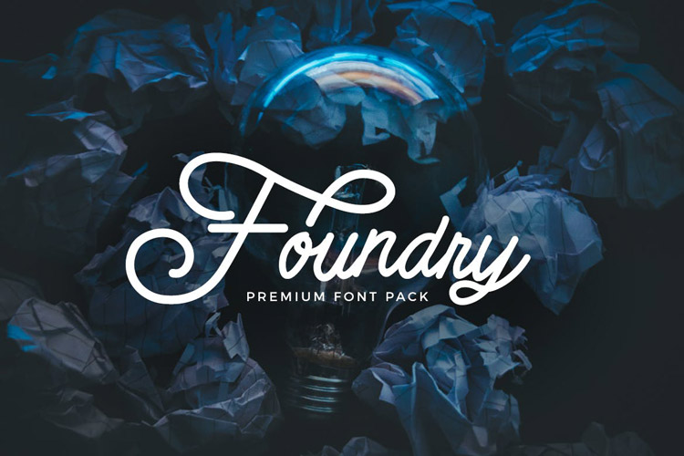 Foundry - font pack