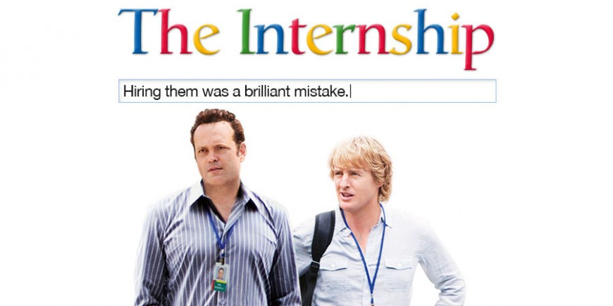 The Internship, la comedia de Hollywood basada en Google